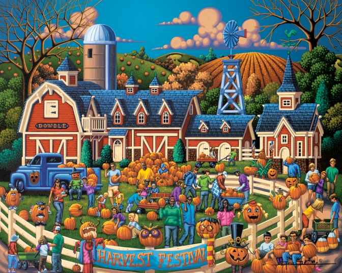 Eric Dowdle's Harvest Festival: The Pumpkining!