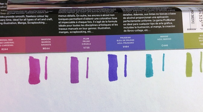 Winsor and Newton ProMarkers: Rich Tones Set