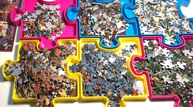 Reviewing Sort and Save – Puzzle Piece Trays