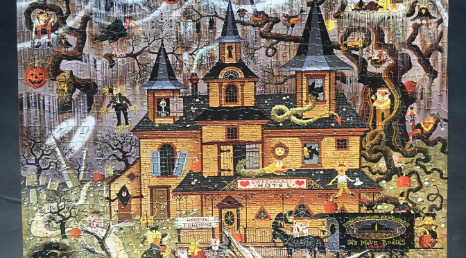 Charles Wysocki's Trick or Treat Hotel