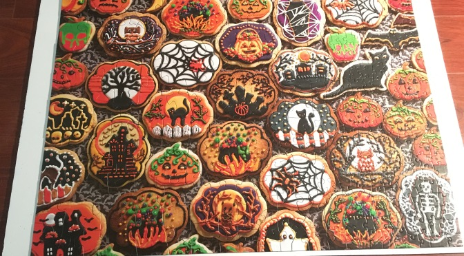 Halloween Cookies and My Sisters