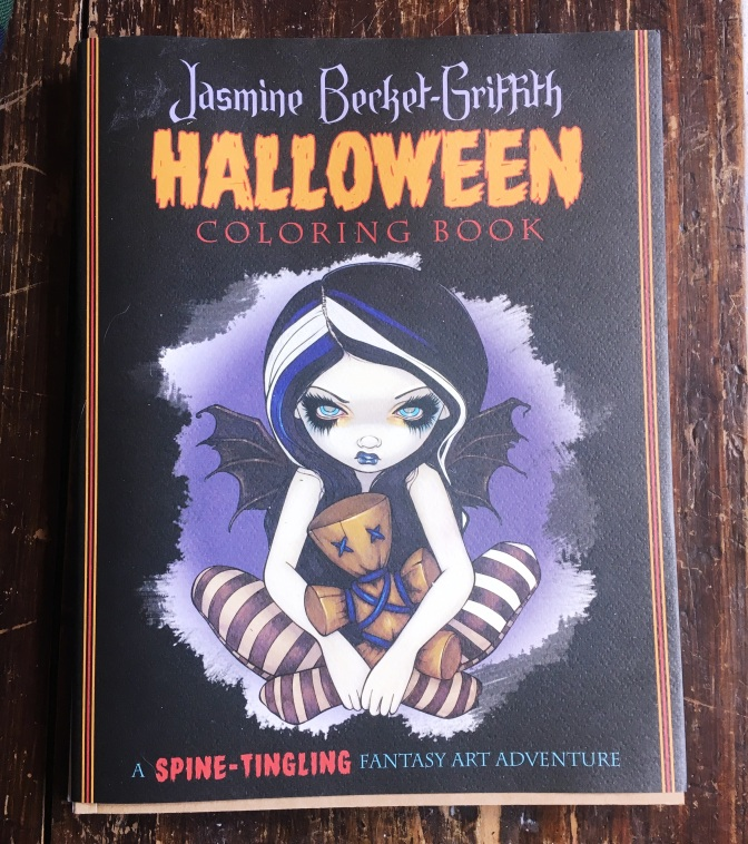 Celebrating the Creepy and Beautifully Odd: Jasmine Becket-Griffith's Halloween Coloring Book