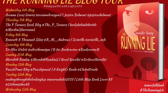The Running Lie (Max Falkland #2)  – A DampPebbles Blog Tour