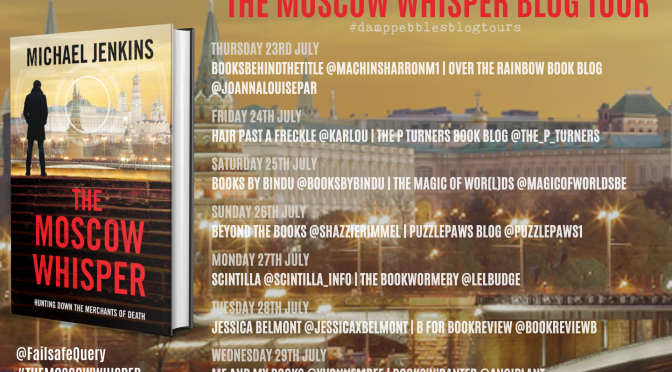 The Moscow Whisper (Sean Richardson #3) – A DampPebbles Blog Tour